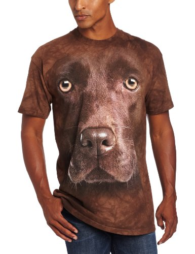 The Mountain Chocolate Lab Face T-Shirt – Adult