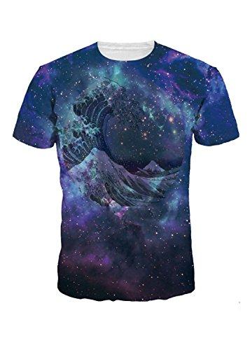 Men Short Sleeve T-Shirt Creative 3D Printed Unisex Summer Tees