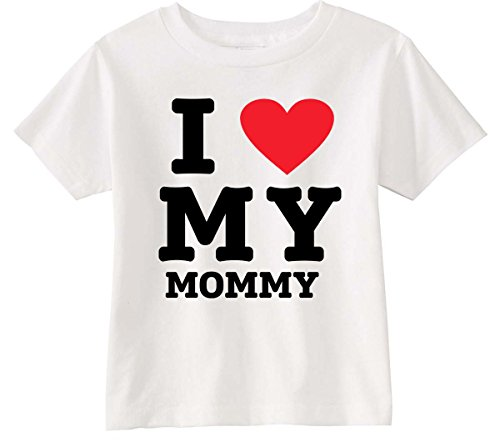 Lil Shirts Unisex Toddler I Love My Mommy T Shirt