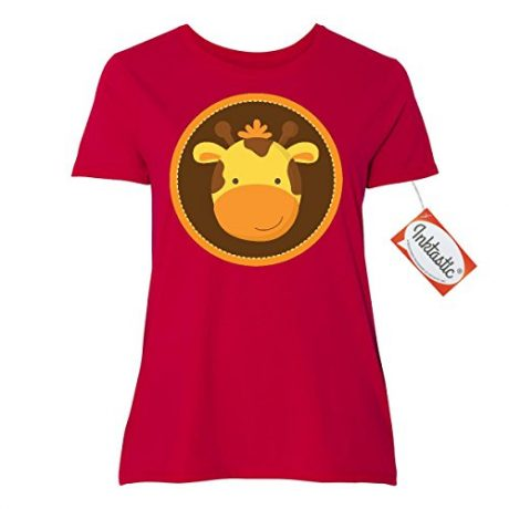 Inktastic Giraffe Face Women's Plus Size T-Shirt